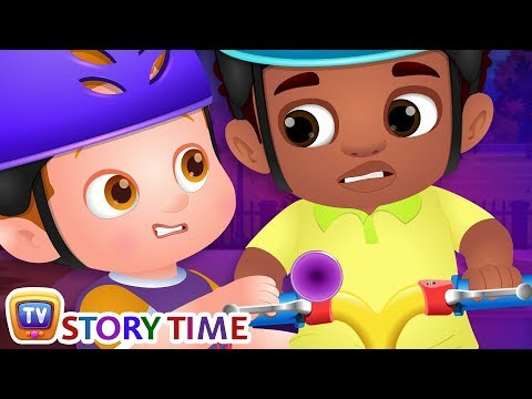 Chika Learns To Ride A Bike - ChuChuTV Good Habits Moral Stories for Kids