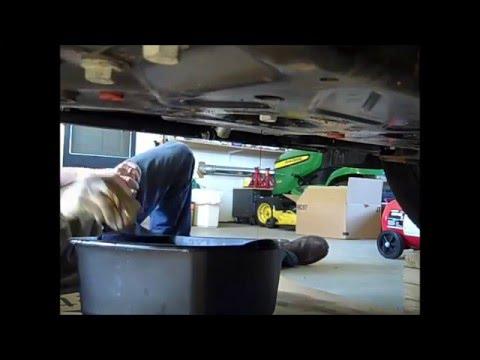 2013 Ford Escape Oil Change