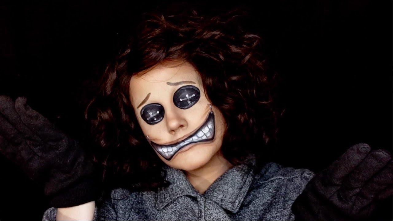 Wybie From Coraline Makeup Tutorial Youtube