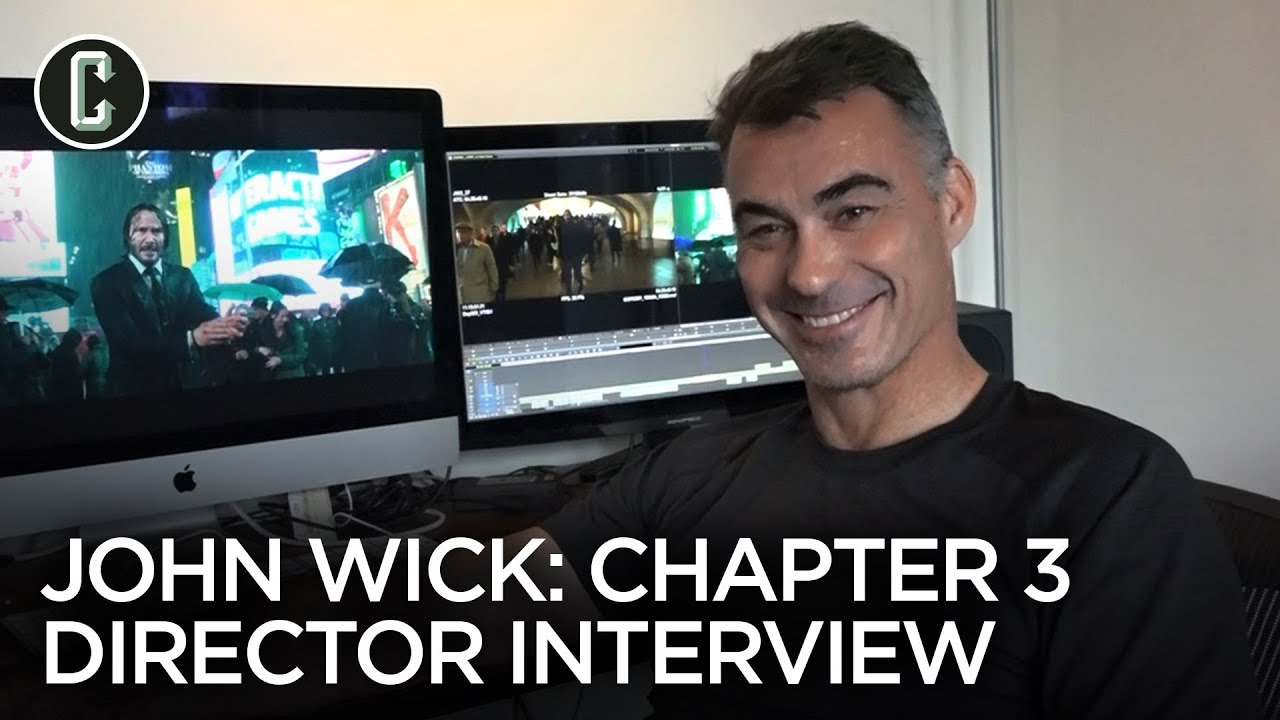 John Wick 3 Director Chad Stahelski Interview Youtube