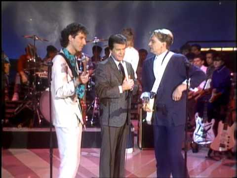 Dick Clark Interviews Wang Chung - American Bandstand 1985