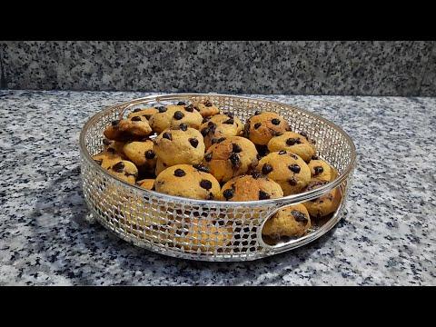 كوكيز-رائع-جدا-هشيش-ولذيذ-احسن-من-الجاهز-بطريقة-سهلة-وكمية-وفيرة-cookies-facile