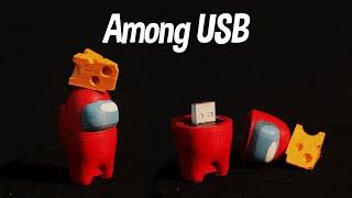 어몽어스 피규어 USB 만들기 / Making Amon…