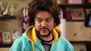 Филипп Киркоров на съемках сериала «Воронины»