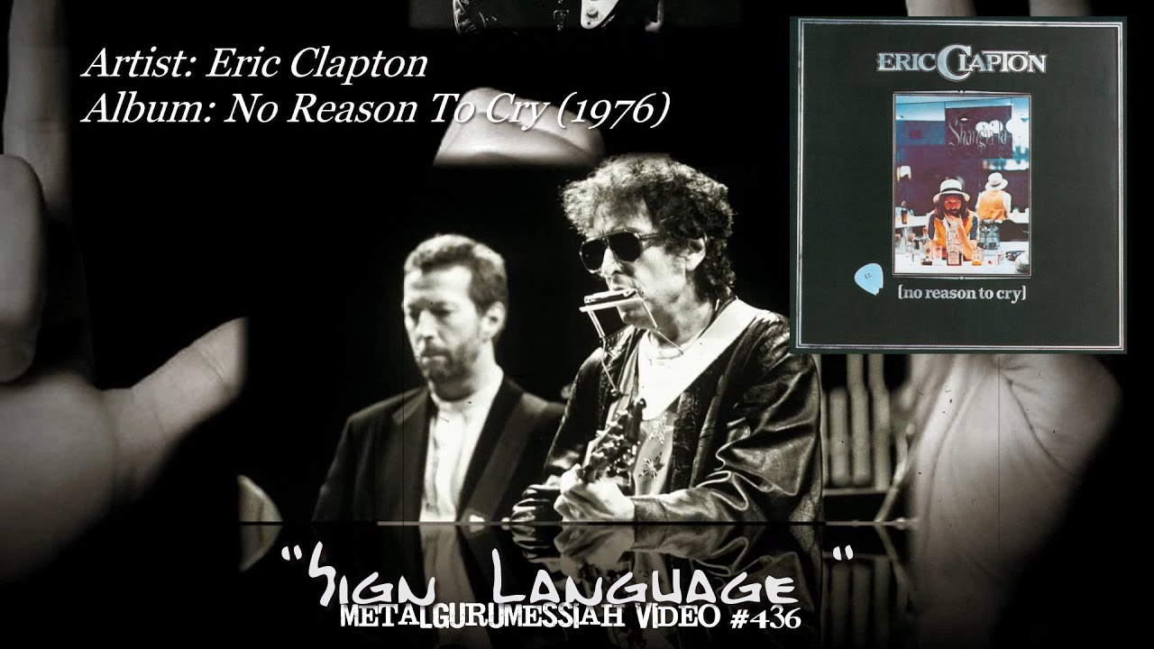 Image result for sign language eric Clapton pictures
