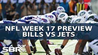 Buffalo Bills vs New York Jets Week 17 | The Odds Couple With Al McMordie | NFL Picks
