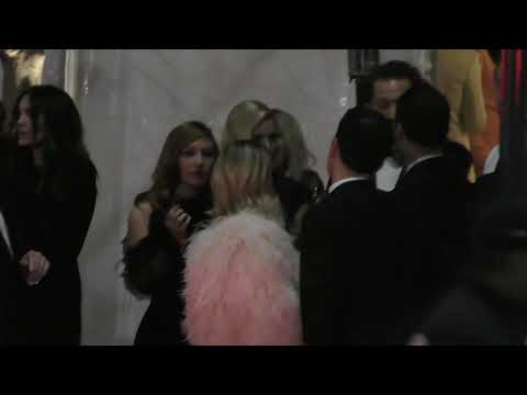 Emma Roberts outside the Vanity Fair Oscar Party in Beverly Hills