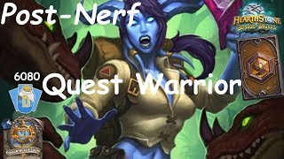 Hearthstone: Quest Warrior Post-Nerf #7: Witchwood (Bosque das Bruxas) - Standard Constructed
