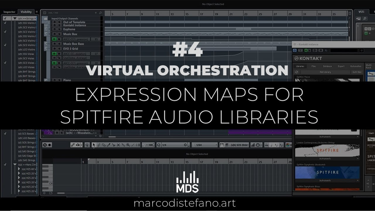 VO #4 Cubase expression maps for Spitfire Audio Libraries