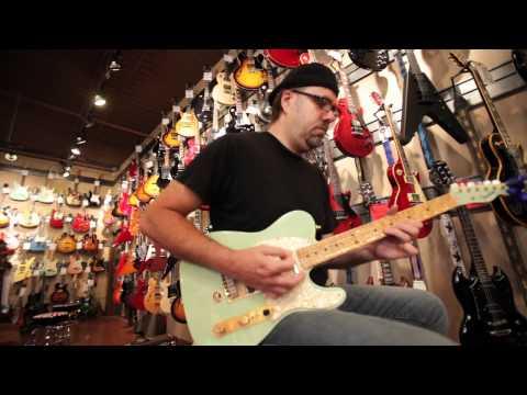 His job: Playing Guitar