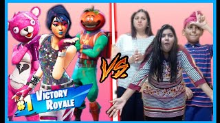 FORTNITE DANCE CHALLENGE in REAL LIFE! | Juhi Virdi