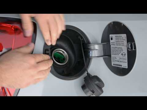 Gas cap cover removal VW polo 6r