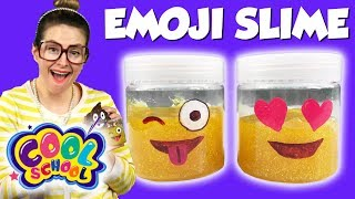DIY Emoji Slime! How to Make Emojis with Glitter Slime! | Arts & Crafts with Crafty Carol