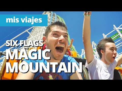 Probando la mejor montaña rusa | Six Flags Magic Mountain #1