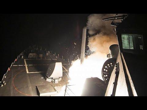 US missiles strike Syria regime airbase