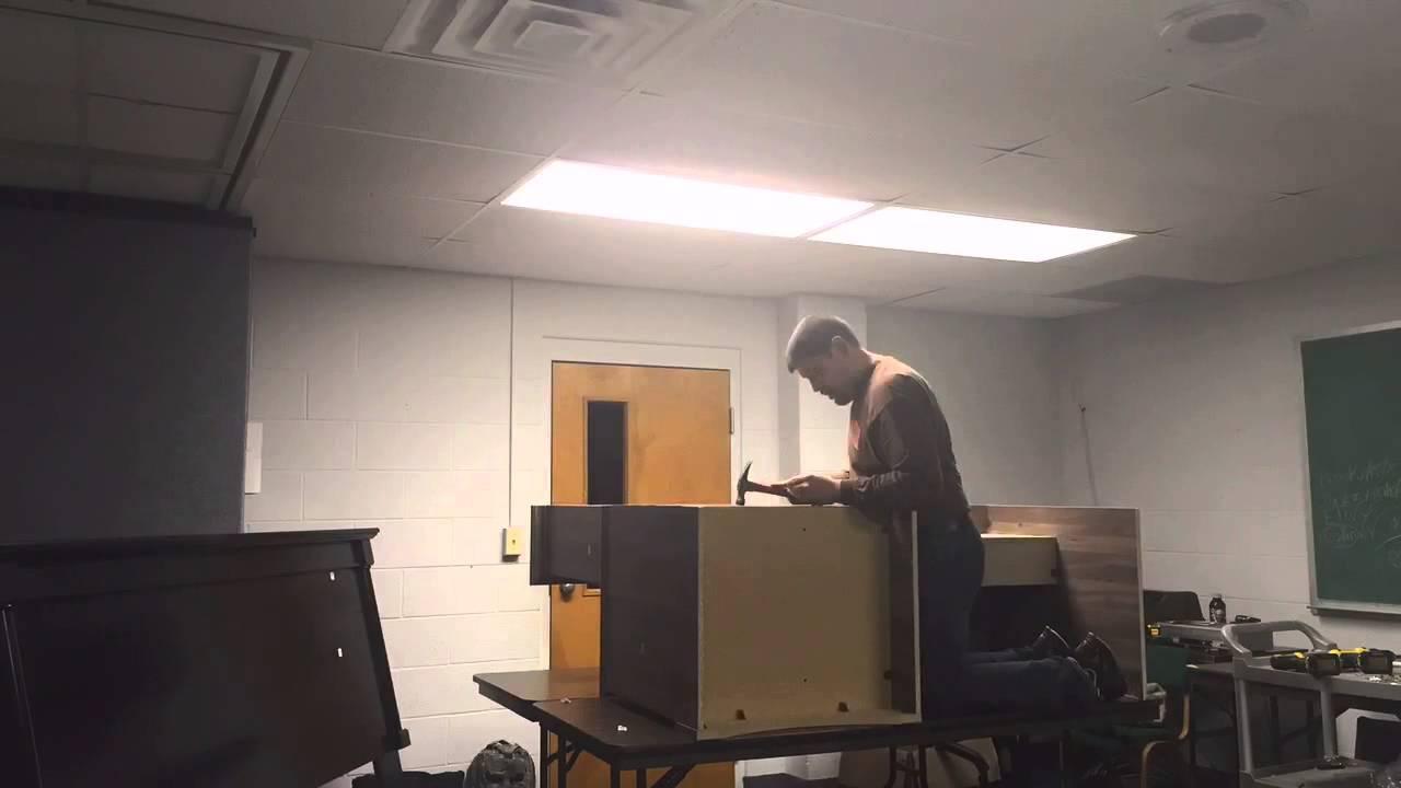 Sauder Desk Assembly