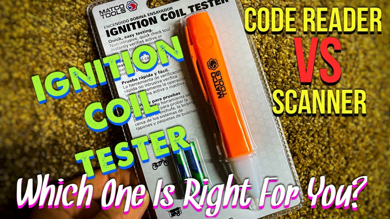 Matco Tools: Ignition Coil Tester and Scanner VS Code Reader Discussions