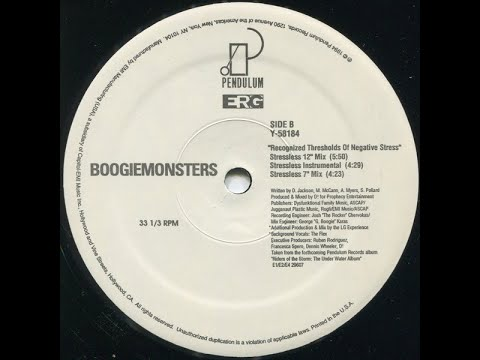 Boogiemonsters – Recognized Thresholds Of Negative Stress (Stressless 12'' Mix) [HQ]