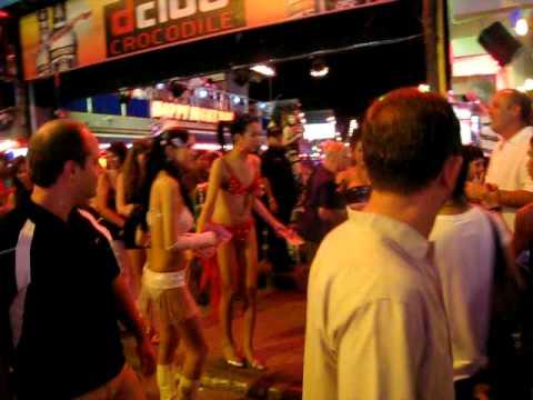 Phuket BANGLA ROAD, LadyBoy - YouTube