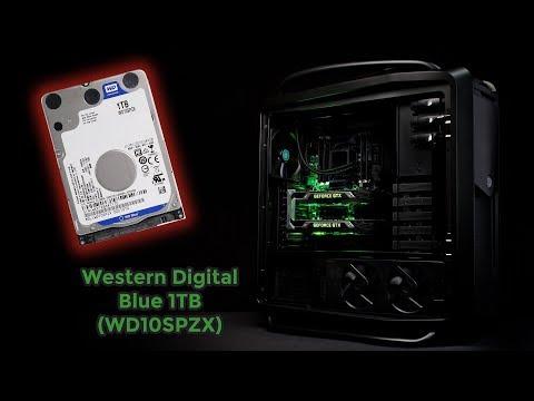 Жорсткий диск HDD Mobile 2,5'' 1TB WD 5400rpm 128MB Blue SATA III 7mm (WD10SPZX)