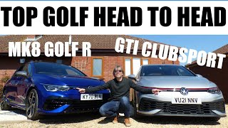 Mk8 VW Golf R vs GTI Clubsport - WHICH SHOULD YOU BUY?