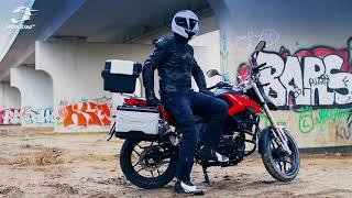 Mój pierwszy raz w skórzanej kurtce motocyklowej na 125 (SECA)   Jednoślad.pl
