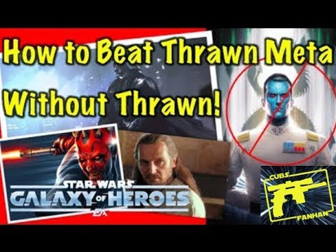 SWGOH : How to Beat Thrawn - WITHOUT Thrawn!