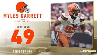 #49: Myles Garrett (DE, Browns) | Top 100 Players of 2019 | NFL