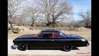 1962 Chevy BelAir Bubbletop Dual Quad 409 4-Speed customized