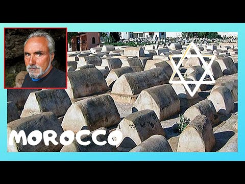 MARRAKECH, the 500 year old historic Jewish Cemetery (MOROCCO)