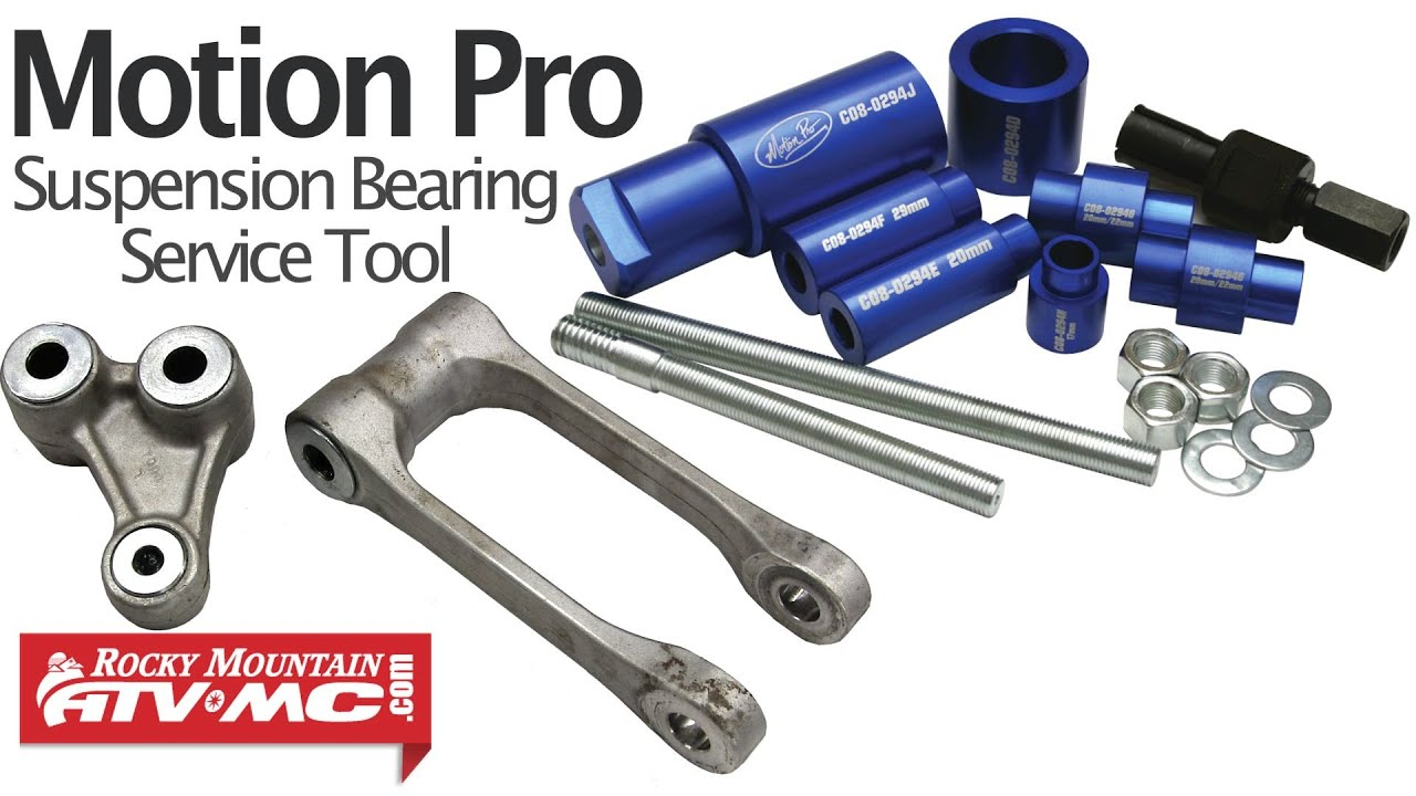 Motion Pro Deluxe Suspension Bearing Service Tool Youtube