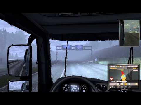 Euro Truck Simulator 2 Longplay   Xmas Mission Germany