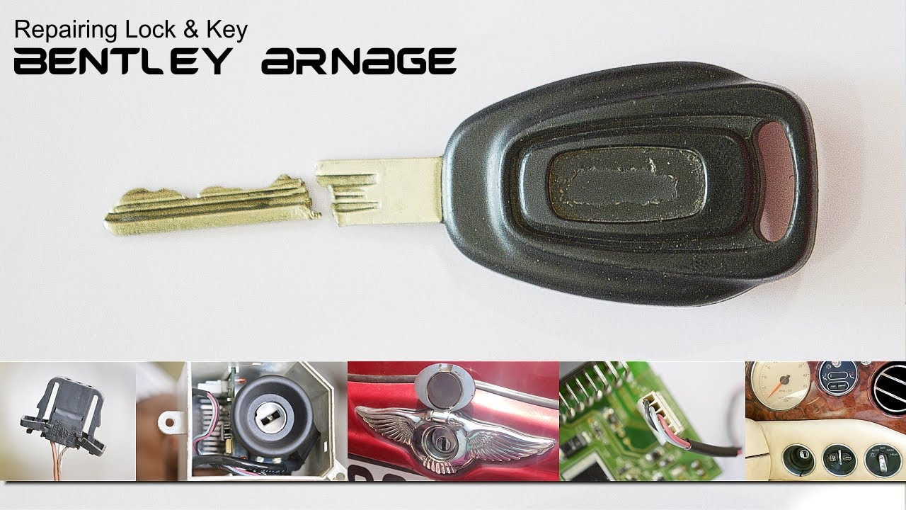 Bentley Arnage Lock & Key - YouTube