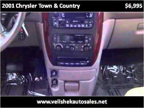 2001 Chrysler Town & Country Used Cars Prior Lake MN