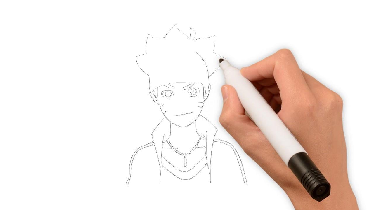 Vẽ Naruto | HƯỚNG DẪN VẼ NHÂN VẬT VẬT HOẠT HÌNH NỔI TIẾNG