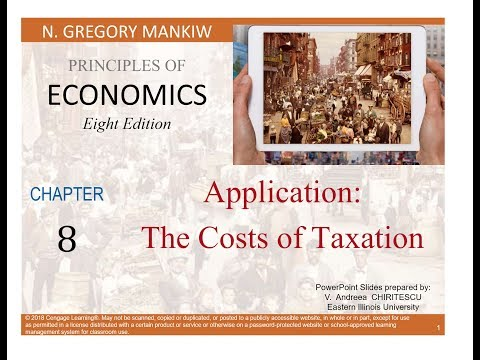 Application: Cost of Taxation
