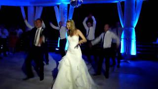 Surprise Wedding Thriller First Dance! Asher, Aileen & Ushers! (Michael Jackson)