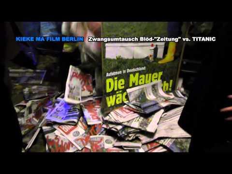 "Die PARTEI Berlin: Zwangsumtausch Blöd""Zeitung"" vs. TITANIC 8. November 2014"