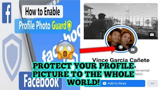HOW TO TURN ON FACEBOOK PROFILE PICTURE GUARD? PROTECT YOUR PROFILE PICTURE (TAGALOG) |PH TRICKSTERS