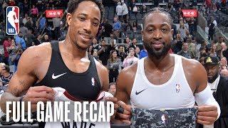 HEAT vs SPURS | Dwyane Wade's Final Game In San Antonio | March 20, 2019