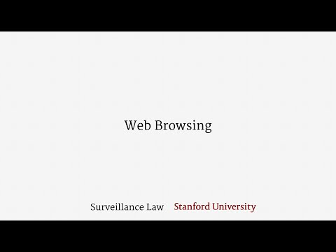Web Browsing (Under the Pen Register Act and Wiretap Act)