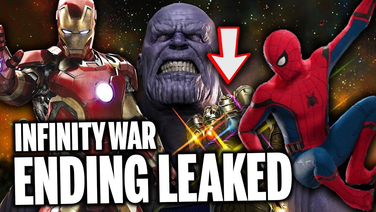 Major Spoiler Avengers Infinity War Ending Leaked By