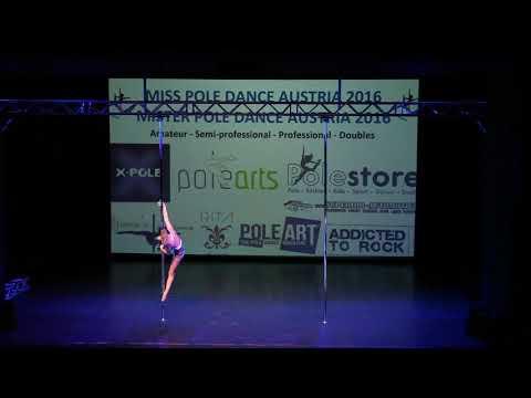 Miss Pole Dance Austria 1. Platz Professional Britt Bloem