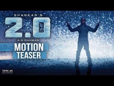 Rajni's 2.0 First Look Teaser | Motion Teaser | Rajinikanth | Akshay Kumar | Amy Jackson | TFPC