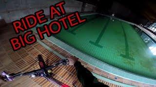 GoPro Downhill Ride at Insane lost Hotel | Verlassenes Hotel