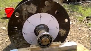 Балансировка барабана дробилки для зерновых без молоточков (бичей)