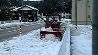 小型乗用除雪機とらん丸NR30P②