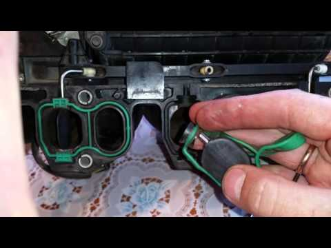 Фото к видео: ремонт планки заслонок завихрения z22yh
