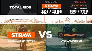 How Accurate Is STRAVA Power? (Calculated Power VS ACTUAL Power Comparison)