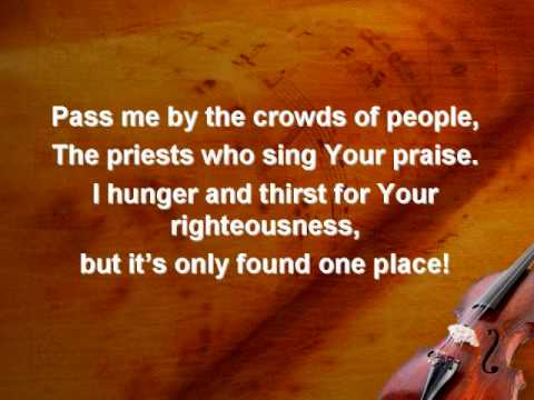 Take Me In (worship video w/ lyrics)